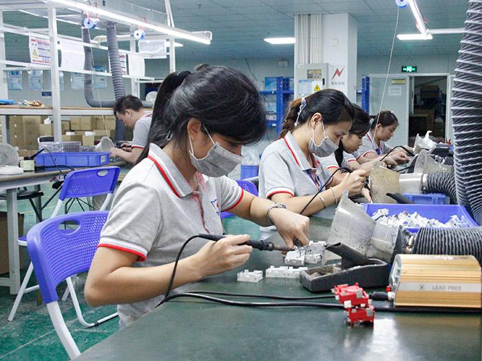 天盾产品生产区