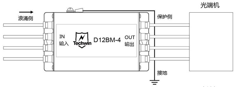 D12BM-4接线示意图