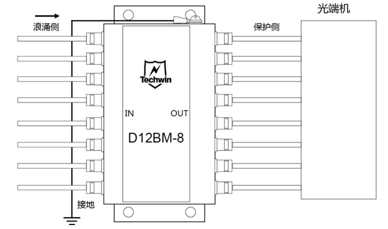 D12BM-8接线示意图