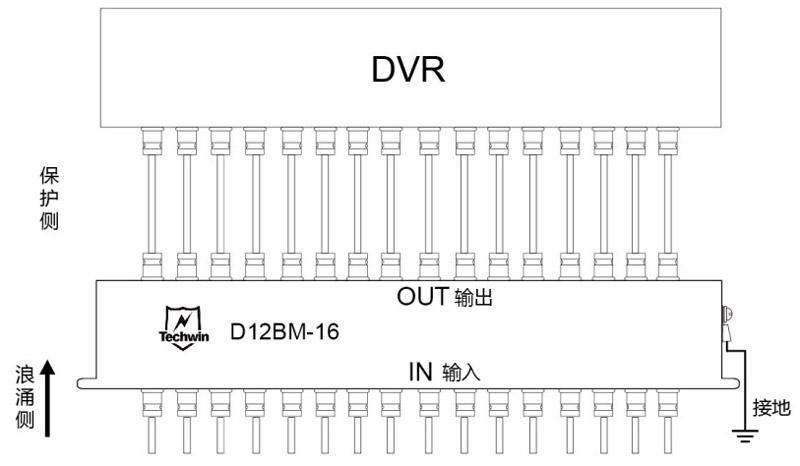 D12BM-16接线示意图