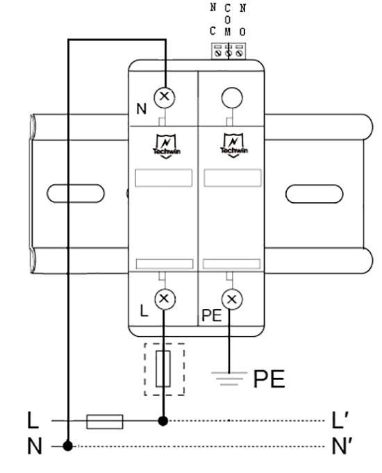 M60B1+N接线示意图