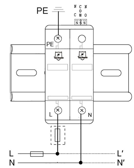 M60B2接线示意图