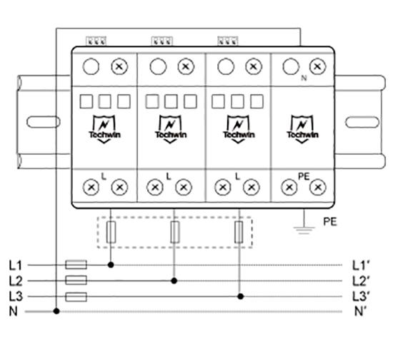 M80B3+N接线示意图