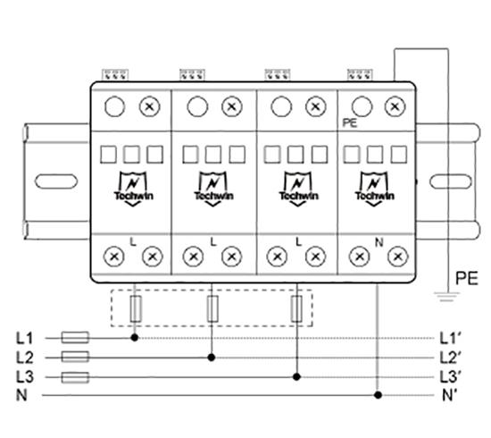 M80B4接线示意图