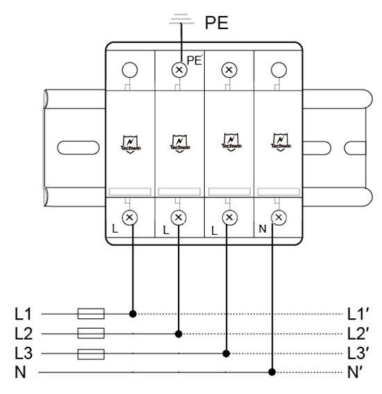MA25B4-(MA25B3无零线N-PE模块)