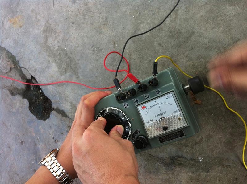 接地电阻测试